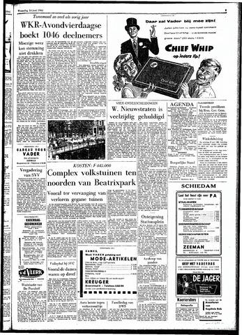 Rotterdamsch Parool / De Schiedammer 1961-06-14