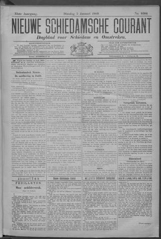 Nieuwe Schiedamsche Courant 1909-01-05
