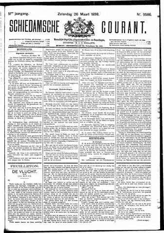 Schiedamsche Courant 1898-03-26