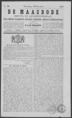 De Maasbode 1853-11-30