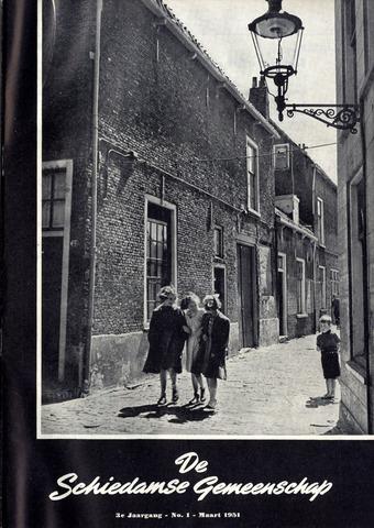 Schiedamse Gemeenschap (tijdschrift) 1951-03-01