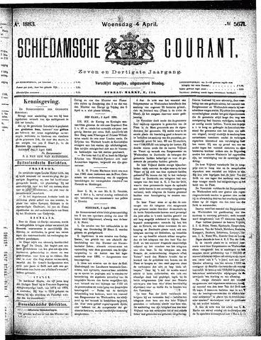Schiedamsche Courant 1883-04-04