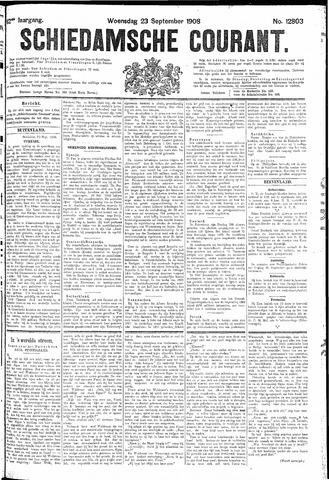 Schiedamsche Courant 1908-09-23