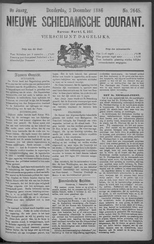 Nieuwe Schiedamsche Courant 1886-12-02