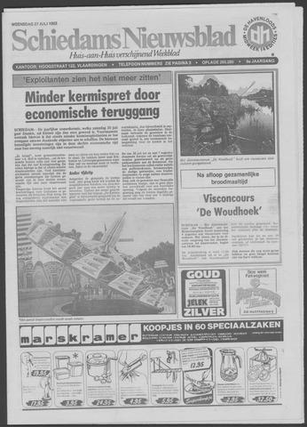Schiedams Nieuwsblad 1983-07-27