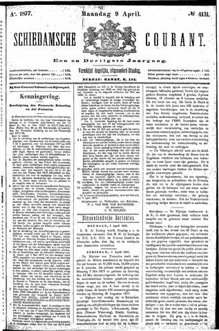 Schiedamsche Courant 1877-04-09