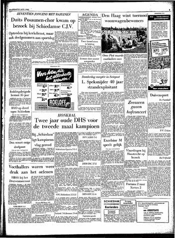 Rotterdamsch Parool / De Schiedammer 1962-08-27