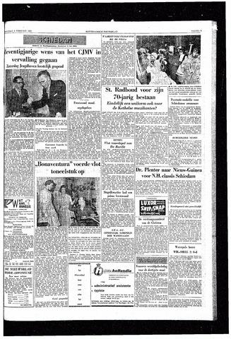 Rotterdamsch Nieuwsblad / Schiedamsche Courant / Rotterdams Dagblad / Waterweg / Algemeen Dagblad 1959-02-09