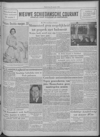 Nieuwe Schiedamsche Courant 1958-01-30