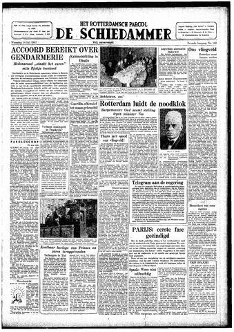 Rotterdamsch Parool / De Schiedammer 1947-07-16