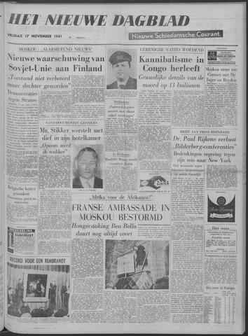 Nieuwe Schiedamsche Courant 1961-11-17