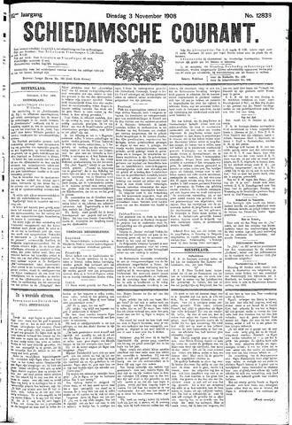 Schiedamsche Courant 1908-11-03