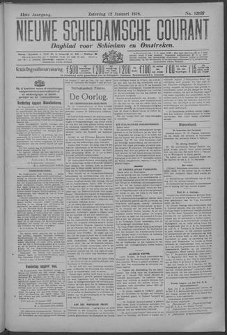 Nieuwe Schiedamsche Courant 1918-01-12