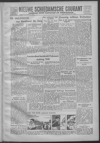 Nieuwe Schiedamsche Courant 1946-02-26