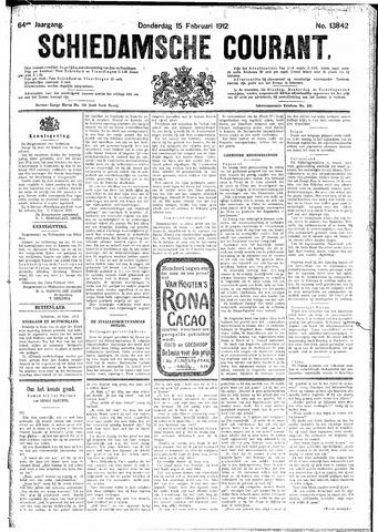 Schiedamsche Courant 1912-02-15