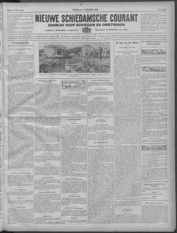 Nieuwe Schiedamsche Courant 1932-10-04