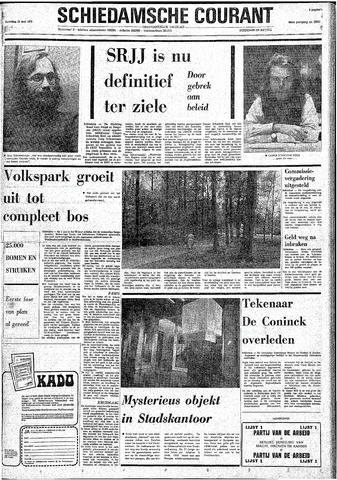 Rotterdamsch Nieuwsblad / Schiedamsche Courant / Rotterdams Dagblad / Waterweg / Algemeen Dagblad 1974-05-18