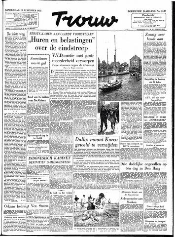 Trouw / De Rotterdammer 1955-08-11