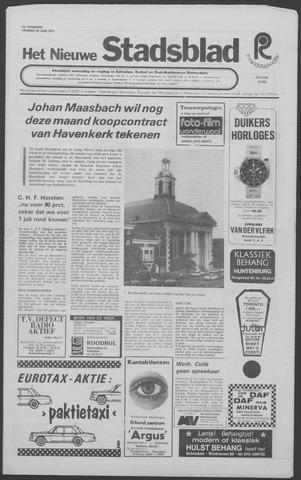 Het Nieuwe Stadsblad 1973-06-22