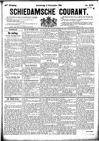 Schiedamsche Courant 1916-11-09