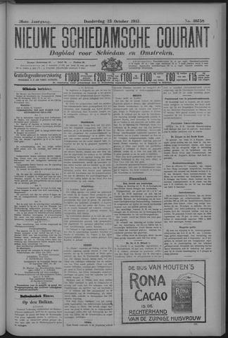 Nieuwe Schiedamsche Courant 1913-10-23