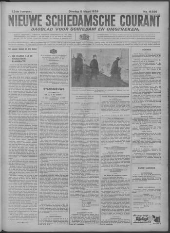 Nieuwe Schiedamsche Courant 1929-03-05