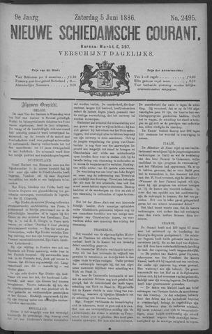 Nieuwe Schiedamsche Courant 1886-06-05