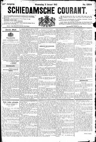 Schiedamsche Courant 1912-01-03
