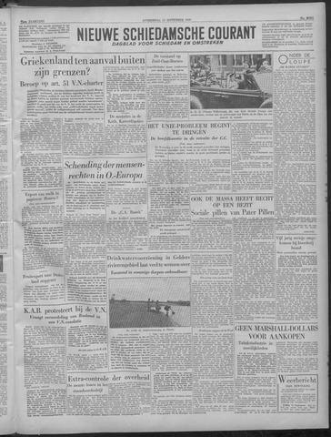 Nieuwe Schiedamsche Courant 1949-09-15