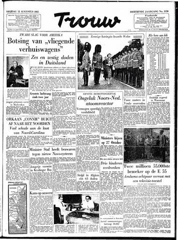 Trouw / De Rotterdammer 1955-08-12