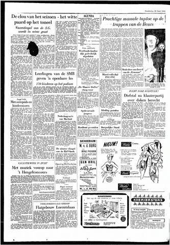 Rotterdamsch Parool / De Schiedammer 1955-06-30