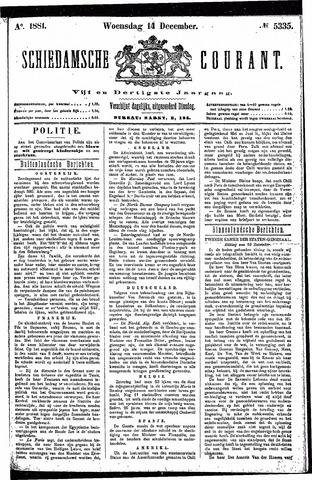 Schiedamsche Courant 1881-12-14