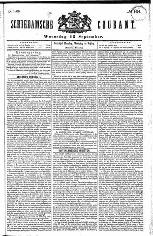 Schiedamsche Courant 1866-09-12