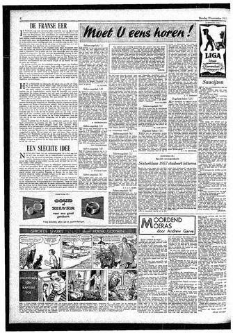 Rotterdamsch Parool / De Schiedammer 1957-11-19