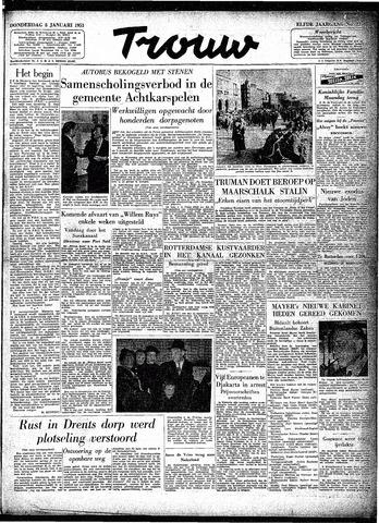 Trouw / De Rotterdammer 1953-01-08