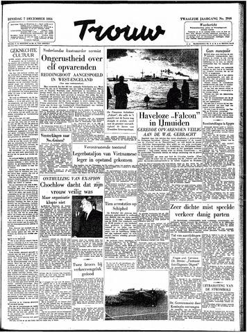 Trouw / De Rotterdammer 1954-12-07