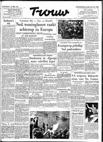 Trouw / De Rotterdammer 1956-05-23