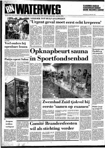 Rotterdamsch Nieuwsblad / Schiedamsche Courant / Rotterdams Dagblad / Waterweg / Algemeen Dagblad 1987-02-16