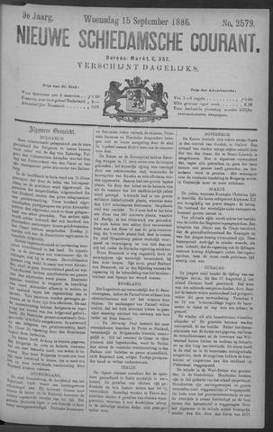 Nieuwe Schiedamsche Courant 1886-09-15