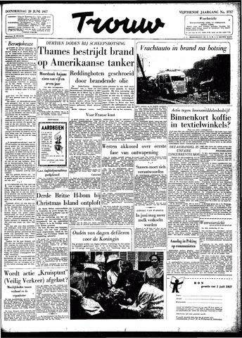 Trouw / De Rotterdammer 1957-06-20