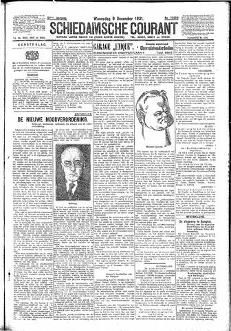 Schiedamsche Courant 1931-12-09
