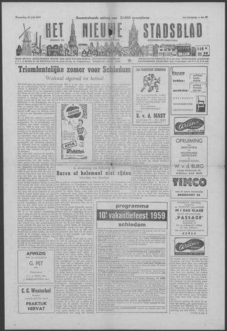 Het Nieuwe Stadsblad 1959-07-29
