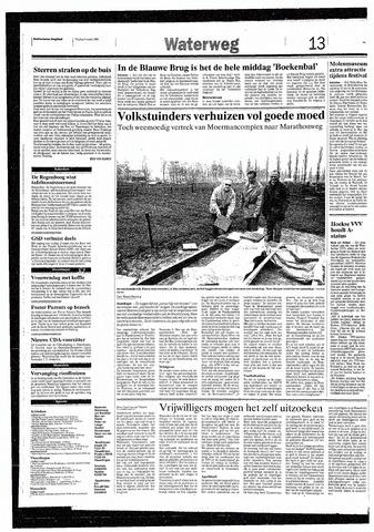 Rotterdamsch Nieuwsblad / Schiedamsche Courant / Rotterdams Dagblad / Waterweg / Algemeen Dagblad 1993-03-05