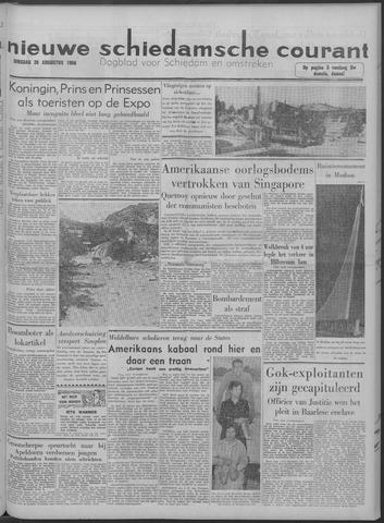 Nieuwe Schiedamsche Courant 1958-08-26