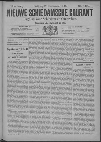 Nieuwe Schiedamsche Courant 1892-12-23