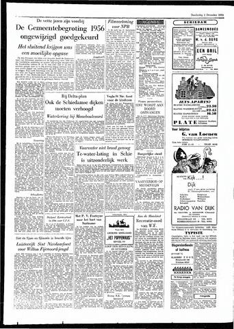Rotterdamsch Parool / De Schiedammer 1955-12-01