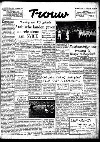 Trouw / De Rotterdammer 1957-09-12