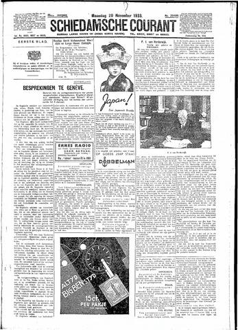 Schiedamsche Courant 1933-11-20