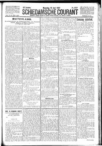 Schiedamsche Courant 1927-06-13