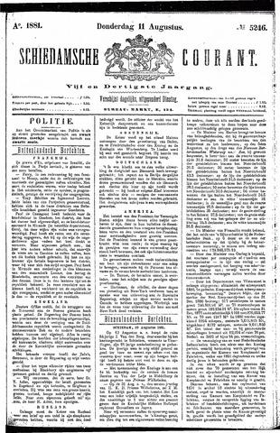 Schiedamsche Courant 1881-08-11